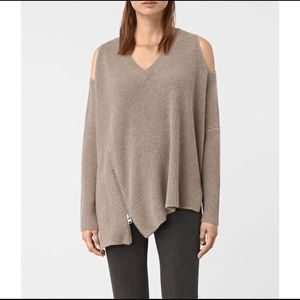 All Saints | Able Open Shoulder Jumper